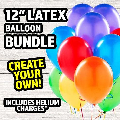 Latex Balloon Bundle
