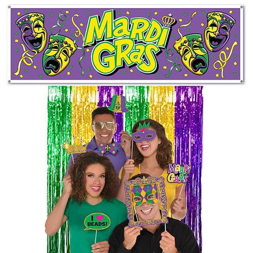 Mardi Gras Photo Booth Kit