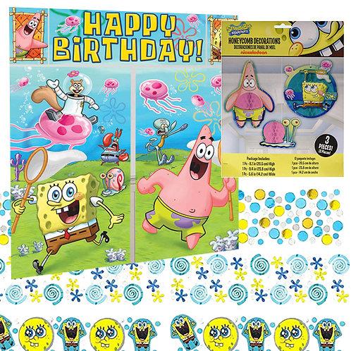 Spongebob Decoration Kit