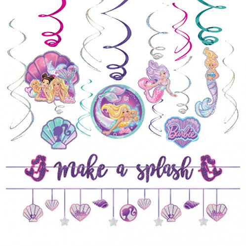 Barbie Mermaid Decoration Kit