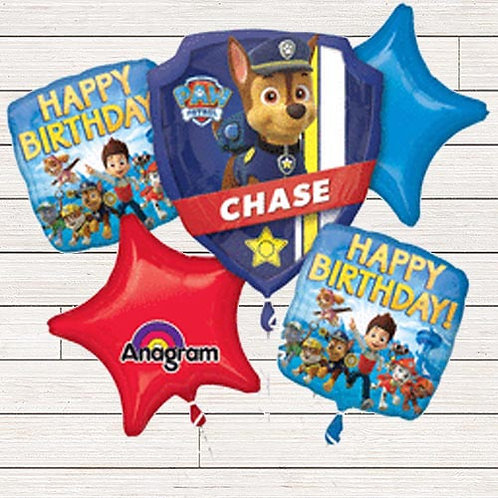 Paw Patrol Mylar Balloon Bundle