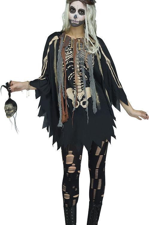 Voodoo Women's Poncho Costume