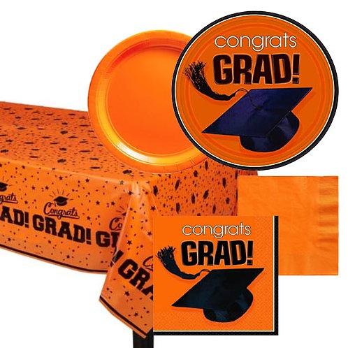 Orange Grad Tableware Kit