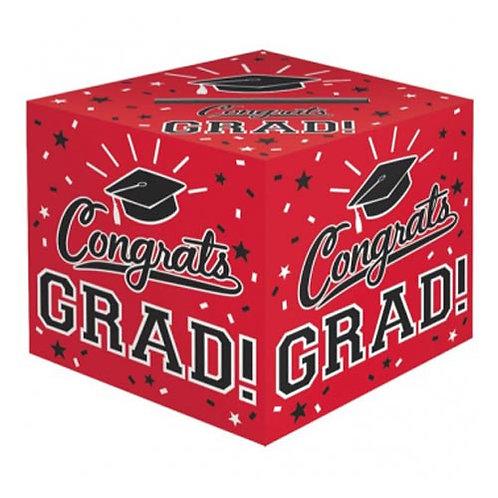 Red Grad Card Box