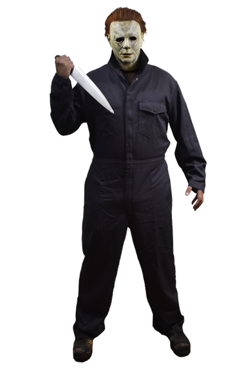 Deluxe 2018 Michael Myers Adult Coveralls