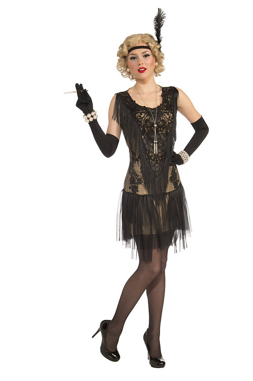 Lacey Lindy Flapper Women's Costume