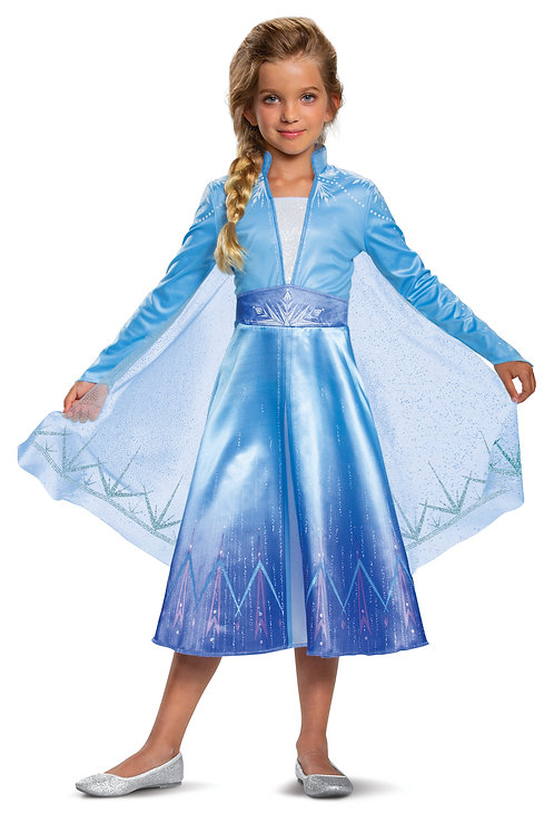 Frozen 2 Elsa Deluxe Girl's Costume