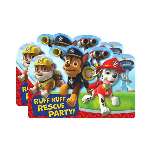 Paw Patrol Invitations x2 (16ct.)