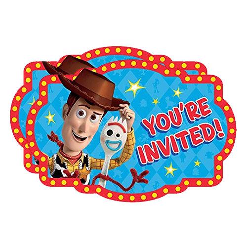 Toy Story 4 Invites x2 (16ct.)