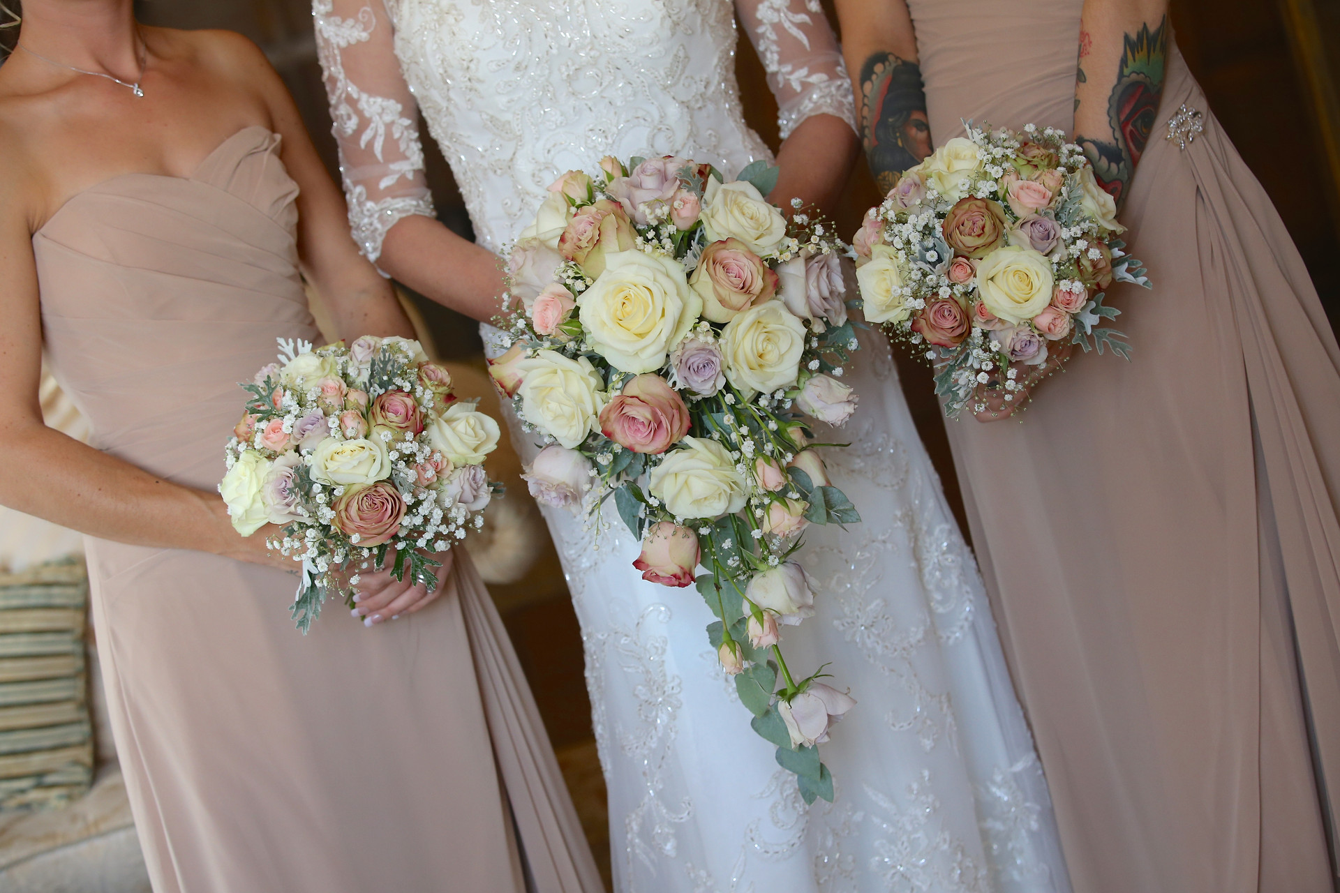 Vintage pinks by Tiger Lily Flowers