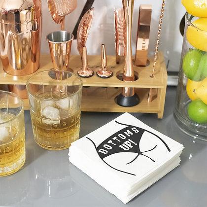 Bottoms Up Cocktail Napkins