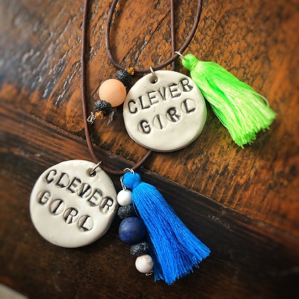Clever Girl Diffuser Necklace