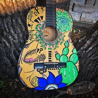 What do guitars, sharks, succulents & fl