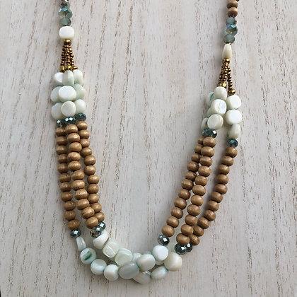Sea Spray layered necklace