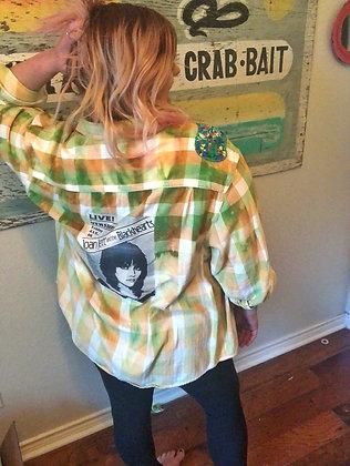 Joan Jett Re-Rocked Vintage Flannel (3xl)