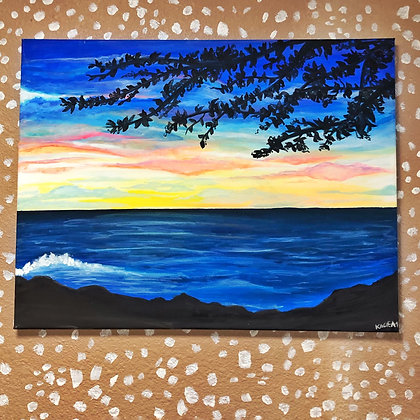 Maui Sunset Original Painting