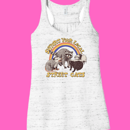 Support Your Local Street Cats Tanktop