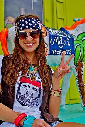Hug a Hippie rowdy tee