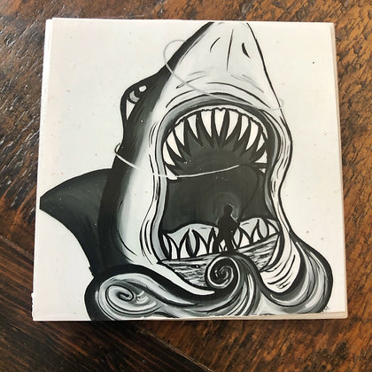Jaws Tile Coaster
