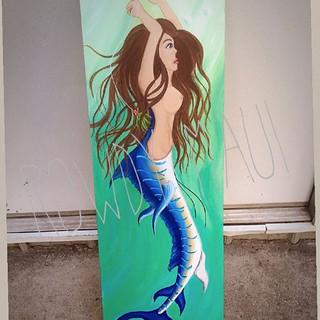 Marlin Mermaid! _rowdymaui #rockporttx #