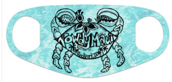 Rowdy Crab Neoprene Mask