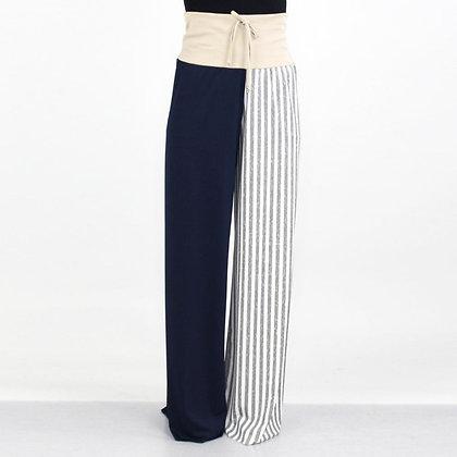 Conflicted Colorblock Maxi Pants