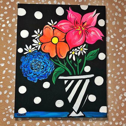 Bold Floral Painting
