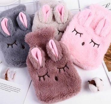 Fuzzy Bunny Portable Hot Water Heatpad