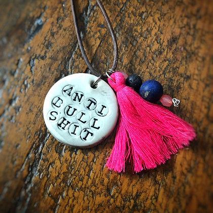 Anti-Bullshit Diffuser Necklace