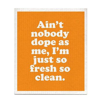 So Fresh So Clean Swedish Dishcloth