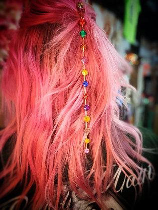 Rainbow Hair Gems