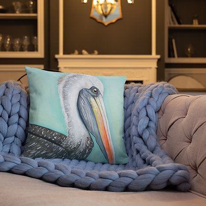 Pelican 18x18 Throw Pillow