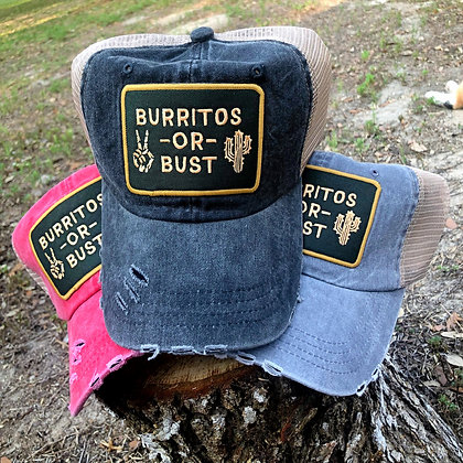 Burritos or Bust Baseball Cap