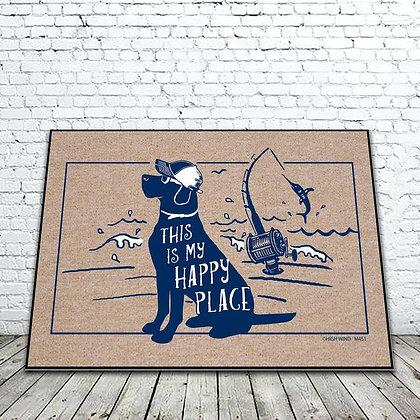 My Happy Place floor mat