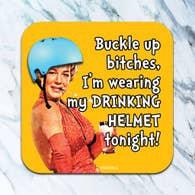 My Drinking Helmet Coaster