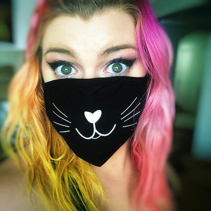 Kitty Cat Face Mask