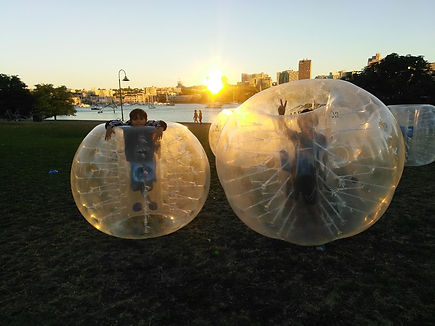 vancouver park kids bubble ball