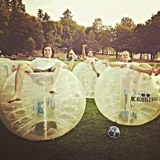 birthday party bubble fun