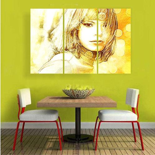Žuta devojka