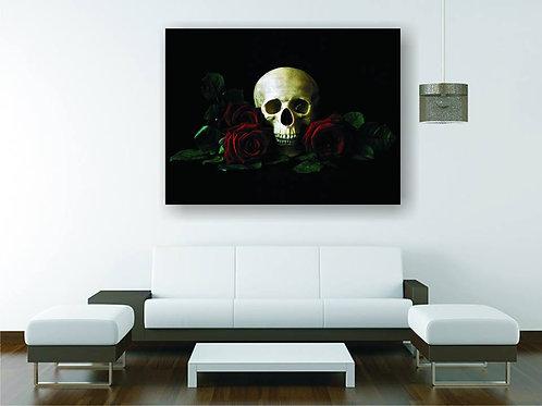 Ruže i lobanja