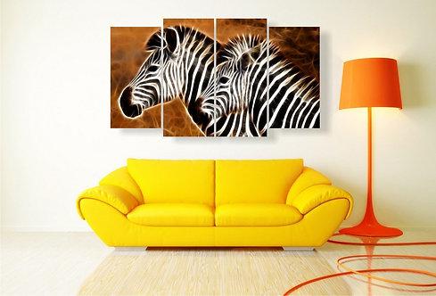Dve zebre