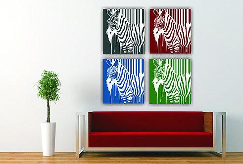 Četiri zebre