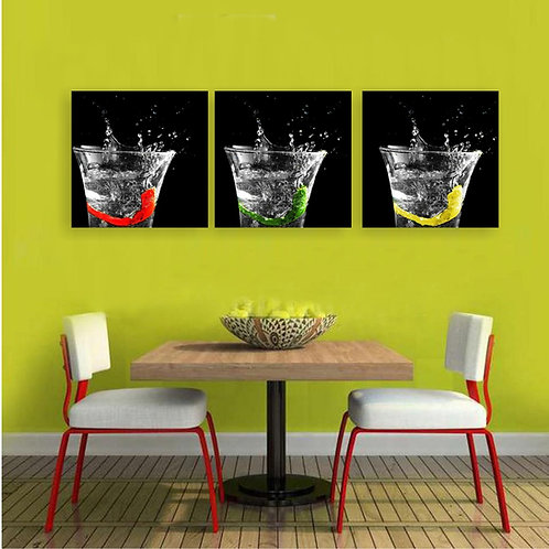 Tri čašice