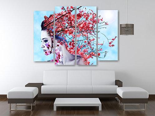 Devojka trešnjin cvet