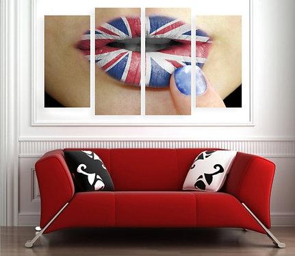 Britanske usne