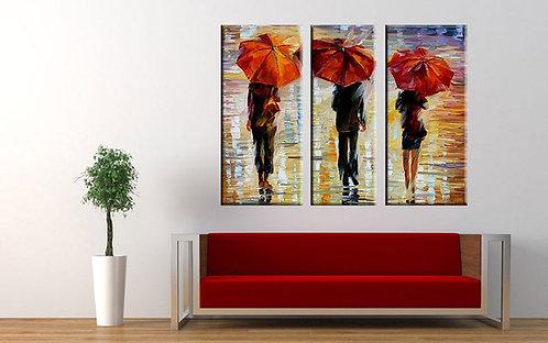 Crveni kišobrani