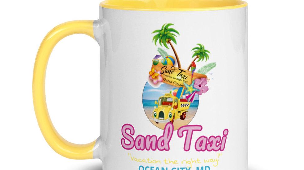 Sand Taxi Mug with Color Inside