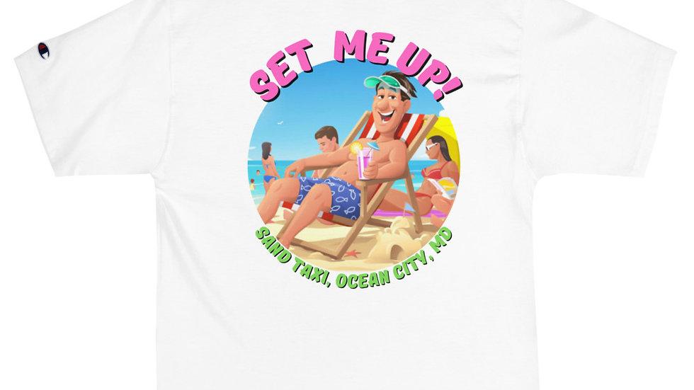 Men's Set Me Up 1 Champion T-Shirt