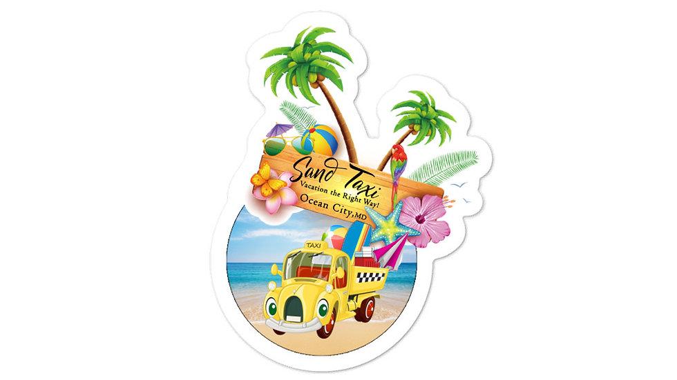 Sand Taxi Sticker