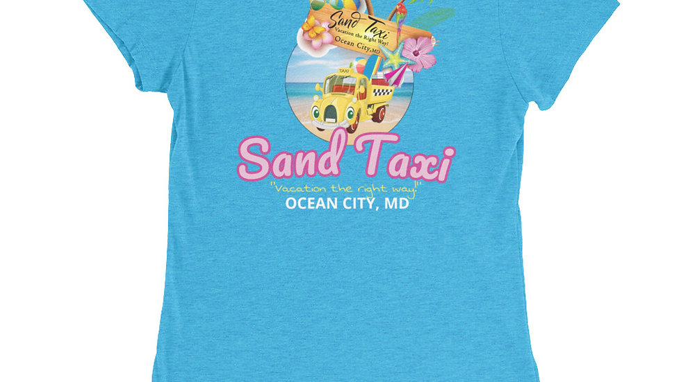 Women's Sand Taxi Tee | Special Blue Edition